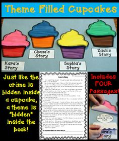 This theme craftivity was created to help students truly understand the meaning of themes in literature!  It includes four passages.  Students lift the flaps to reveal the story's theme!  $