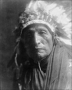 Oglala Sioux Man by Edward Curtis