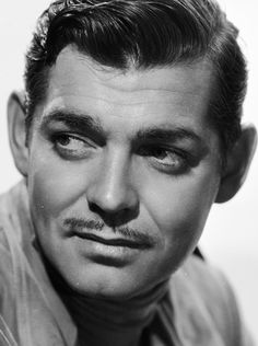 Clark Gable (1901-1960) - American film actor. Photo 1936 by Clarence Sinclair Bull