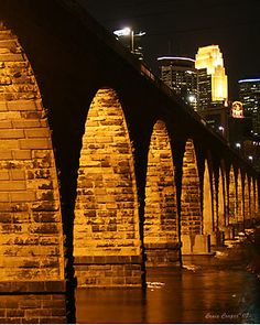 Minneapolis Stone Arch Bridge by Craig Cooper