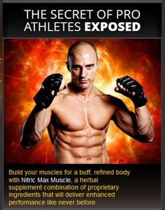 Nitric Max Muscle Review says that undergoing intensive workout and proper diet are the most important factors in bodybuilding to have a body of a champion.
