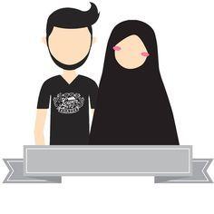 Images of muslim cute couple pic cartoon - Muslim Family, Muslim Couples, Muslim Girls, Muslim Women, Cute Couple Pic Cartoon, Anime Couples, Cute Couples, Muslimah Wedding, Islamic Posters