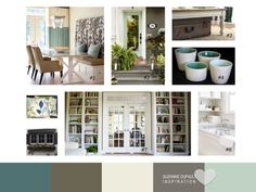 Suzanne Dufault DesignISmall House Addict Blog! She puts together gorgeous color palettes