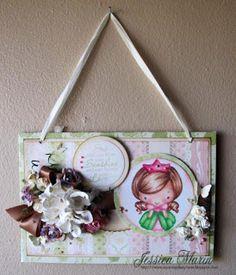 Princess Wall Hanging by Jess Marin