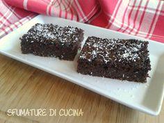Torta di pane cioccolato e cocco