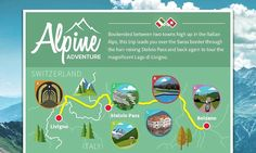 Infographic reveals best European roadtrips including Italy and France