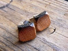 Handmade Whiskey Barrel Cuff Links | 18 Gifts That Whiskey Lovers Will Certainly Love