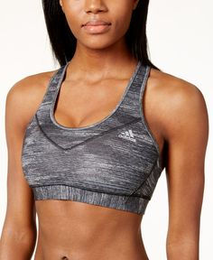 adidas Techfit Molded Cup Space-Dyed Sports Bra