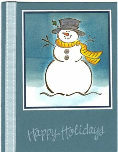My Frosty by scraptagger - Cards and Paper Crafts at Splitcoaststampers