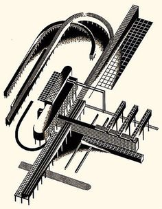 «Architectural Fantasies» 1925-1933 Architectural Fantasies: 101 Compositions –101 compositions in color and 101 in black-and-white—is the last and, probably, the best book published during C…