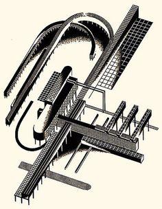 yakov chernikov, architecture, constructivism