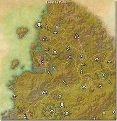 Craglorn zone map. Elder Scrolls Online: Tamriel Unlimited. Locales ...