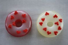 Make mini donuts out of lifesavers.  How cute is that?!  I've got some empty altoid tins to use as cute boxes.