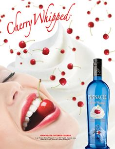PINNACLE CHERRY WHIPPED FLAVORED VODKA
