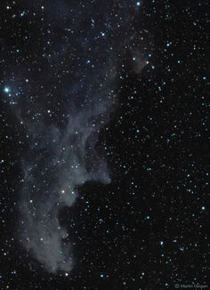 https://flic.kr/p/NKkiEs | Witch Head Nebula (IC 2118) | IC 2118 (also known as Witch Head Nebula due to its shape), is an extremely faint reflection nebula believed to be an ancient supernova remnant or gas cloud illuminated by nearby supergiant star Rigel in Orion. It lies in the Eridanus constellation, about 900 light-years from Earth.   About the image: Photographed in the rural dark skies of the Waterberg, Limpopo, South Africa (on a very warm Summer's evening).   Gear: William Optics…