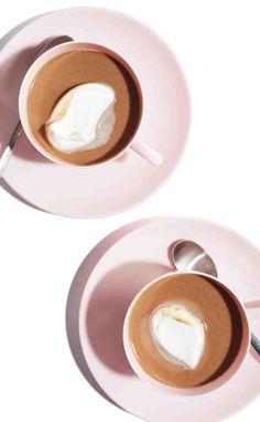 Yummy nutella hot chocolate.