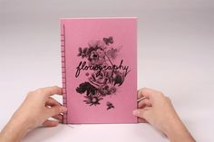 Floriography fanzine by Leonor Oliveira, via Behance