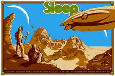 A New Sleep Poster by David D'Andrea and Arik Roper  (Onsale Info)