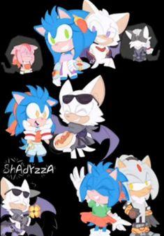 Maria Rose, Sonamy Comic, Sonic Funny, Pokemon, Sonic Adventure, Sonic Heroes, Mini Comic, Miraclous Ladybug, Video Game Art
