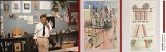 La Galleria Antonia Jannone – Disegni di Architettura presenta Aldo Rossi. Disegni 1980 – 1996, in mostra da metà settembre alla fine di ottobre 2012. A due anni dall'esposizione Aldo Rossi. Opere dal 1970 al 1980, la storica galleria milanese propone circa venti opere del grande architetto