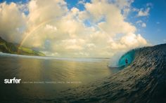 Christian Redongo, Teahupoo. Photo: @ZakNoyle #SURFERPhotos