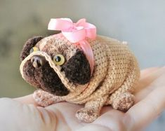 crocheted handmade toys: bears, pigs, foxes, cats, dogs by toysbyKatrin Knitted Cat, Knitted Dolls, Crochet Toys, Cute Stuffed Animals, Lol Dolls, Bear Toy, Amigurumi Doll, Stuffed Toys Patterns, Handmade Toys