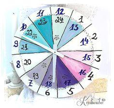 Uhrzeiger basteln vorlage  Uhrwerke zum Uhrenbasteln: http://www.kreativ-exklusiv.de/de ...