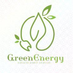 #Green #Energy #Power logo