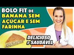 Diabetes, Healthy Eating, Low Carb, Youtube, Receita Light, Fitness, Flora, Gluten, Cakes