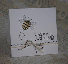 Splitcoaststampers FOOGallery - Bee note