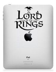 Lord of the Ring. iPad, iPad 2 or iPad 3 Sticker Decal