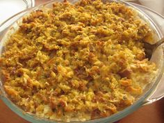 stuffing | Crafty Cook: Chicken and Stuffing Casserole