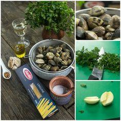 Καθάρισμα αχιβαδων - Ζυμαρικά με αχιβάδες Linguine, Sea Food, Spaghetti, Stuffed Mushrooms, Vegetables, Stuff Mushrooms, Vegetable Recipes, Noodle, Veggies