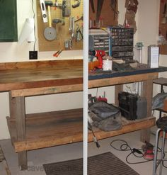 Heap of Change Challenge, workbench makeover