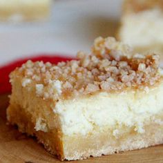 Cheesecake Sugar Cookie bars by Freda Recipe | Just A Pinch Recipes