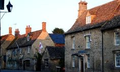 Lechlade High Street, Cotswolds, UK