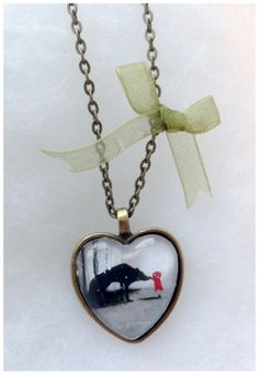 Little Red Riding Hood Fairytale Necklace My goodness but I do like this!
