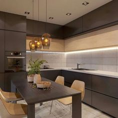 VK is the largest European social network with more than 100 million active users. Kitchen Room Design, Kitchen Cabinet Design, Modern Kitchen Design, Living Room Kitchen, Interior Design Kitchen, Kitchen Decor, Kitchen Ideas, Kitchen Modular, Cuisines Design