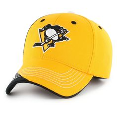 NHL Pittsburgh Penguins Fan Favorite Hubris Cap, Adult Unisex