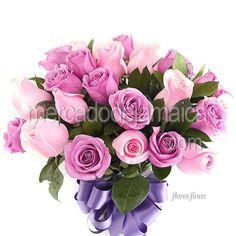 Arreglos con Rosas Rosas Carina !  Envia Flores