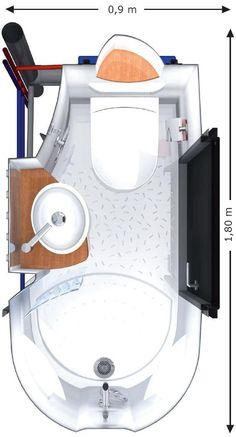 Contemporary bathroom / ceramic / for professional use / precast - AQUACOOL - AQUADREAM