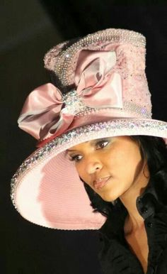 Detroit Fashion, designed by Mr. Fancy Hats, Big Hats, Women's Hats, Church Attire, Church Outfits, Hats For Women, Ladies Hats, Royal Ascot Hats, Church Fashion