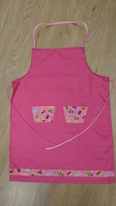 Hand made adult apron