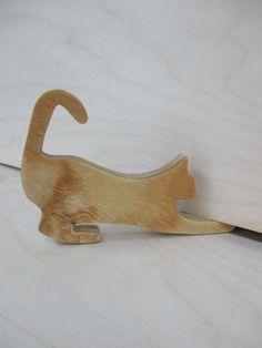 Cat shaped door wedge by TokenTreasuresByMark on Etsy