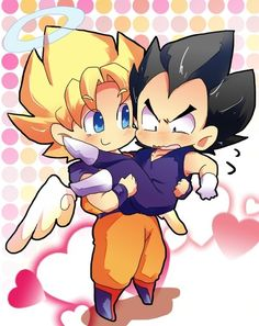 DBZ Goku saves Vegeta lol