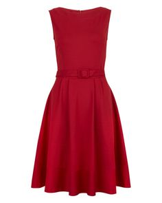 THE DRESS: This red hot dress will brighten up a grey winters day!  http://www.jigsaw-online.com/ponte-contrast-dress//jigsaw-clothing/fcp-product/4725#
