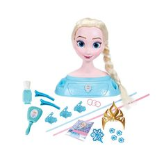 Pin for Later: 24 Frozen Toys to Carry Your Elsa- and Anna-Lovers Away to Arendelle Disney Frozen Majestic Styling Hair Head Your little one can practice their braiding skills with the Disney Frozen Majestic Styling Hair Head ($35).