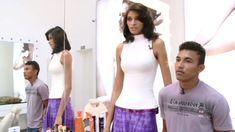 Risultato immagine per tall women japanase comparision Modest Dresses, Pretty Dresses, Average Face, Tall Women, Women Swimsuits, Asian Woman, Amazing Women, Basic Tank Top