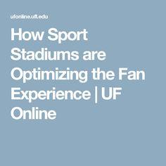 How Sport Stadiums are Optimizing the Fan Experience Sports Stadium, University Of Florida, Infographic, Fan, Info Graphics, Infographics, Information Design, Fans