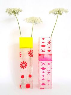 Unique & handmade flower vases made by kira-cph.com